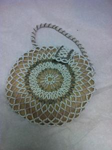 Seed bead purse