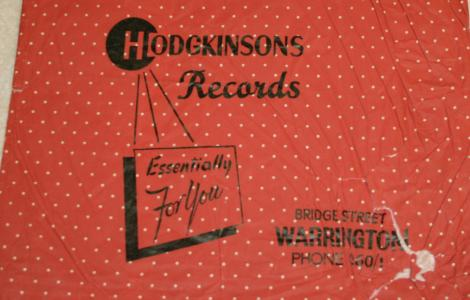Bag from the record department in the 1950's